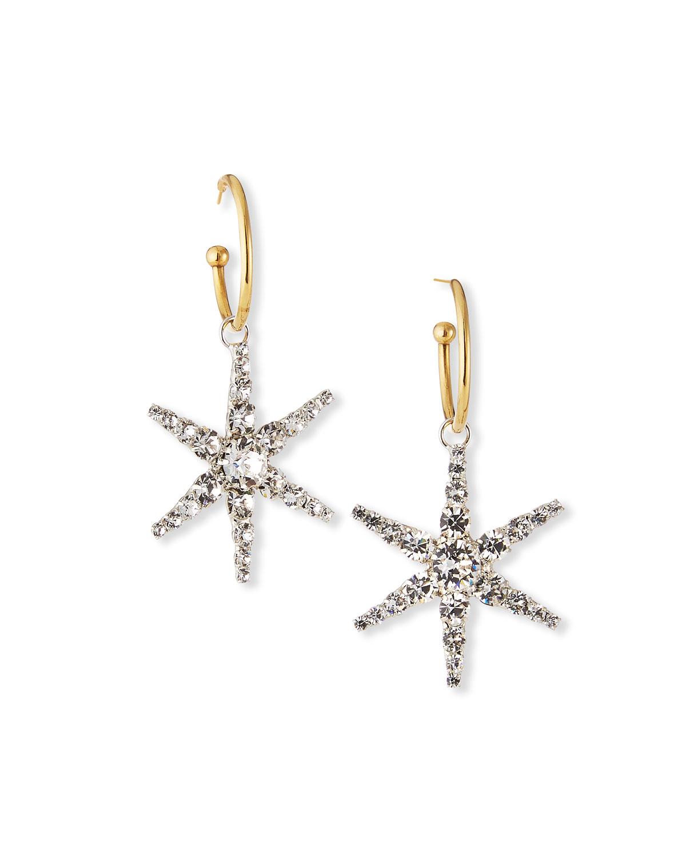 Ciel Hoop-Drop Earrings