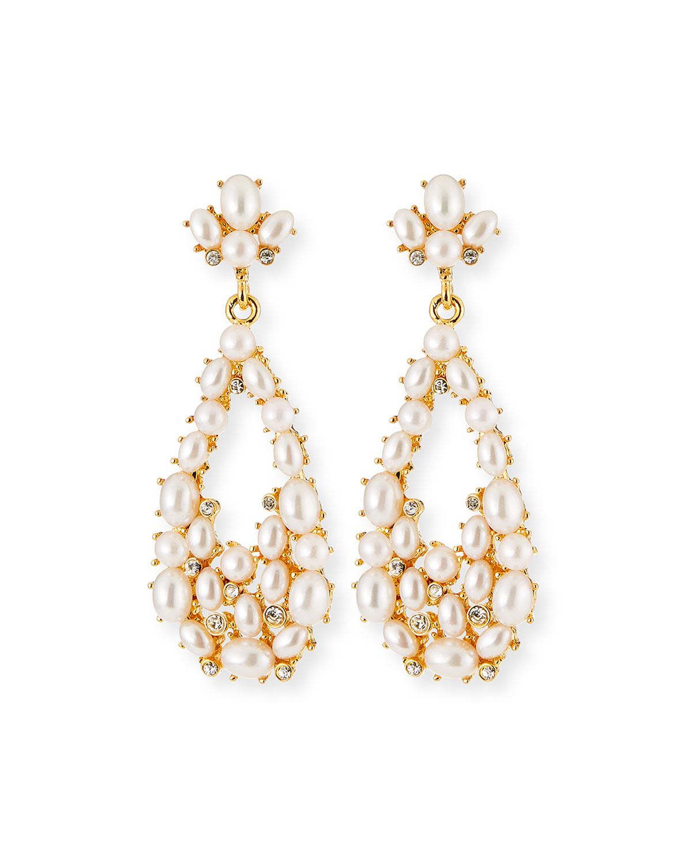 Teardrop Cabochon Earrings