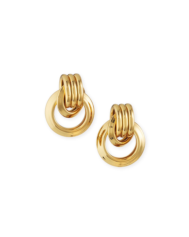 Small Door-Knocker Earrings