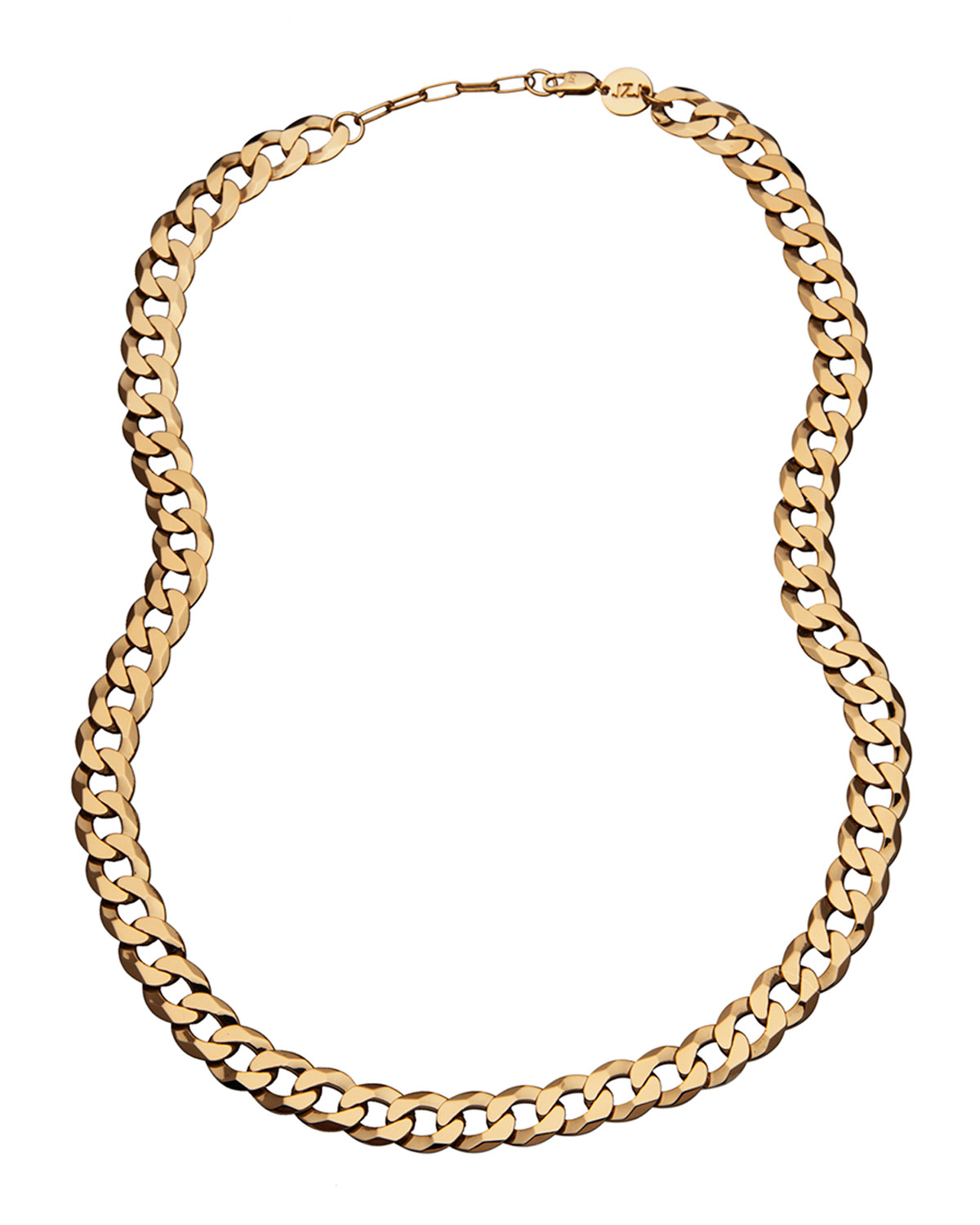 Angie Curb-Link Chain Necklace