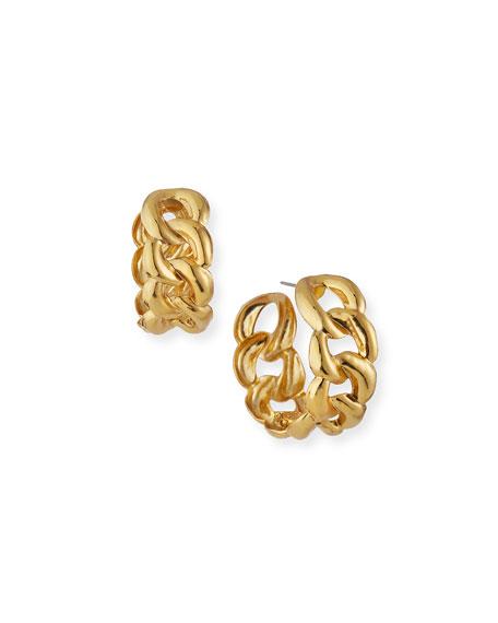 Jennifer Behr Tara Hoop Earrings