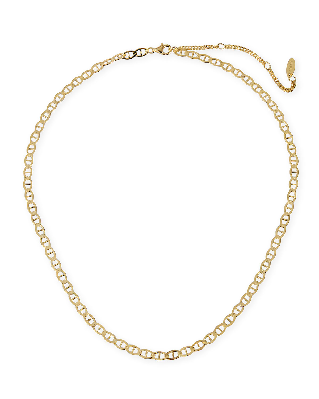 Mini Jupiter Gold Vermeil Chain Necklace