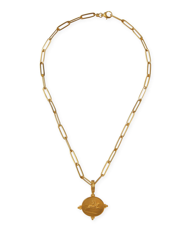 Pegasus Pendant Necklace