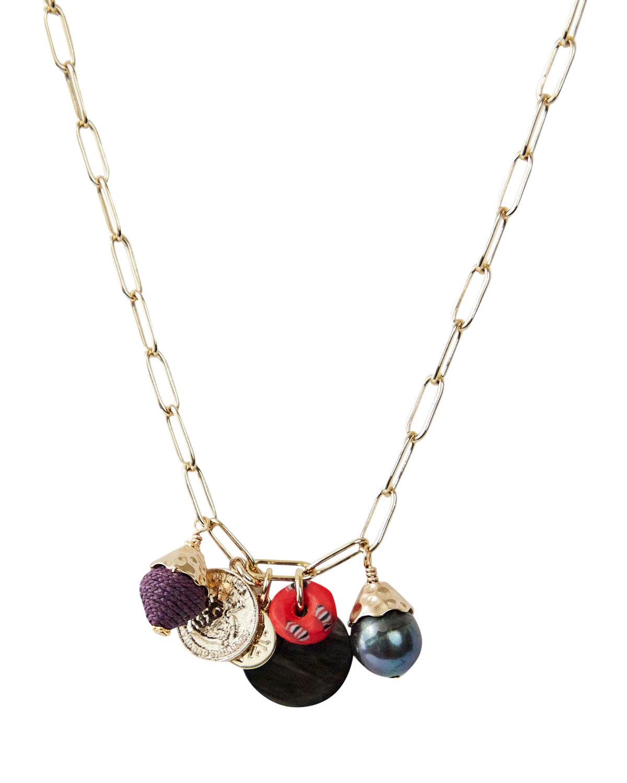 Octavia Mixed Charm Necklace