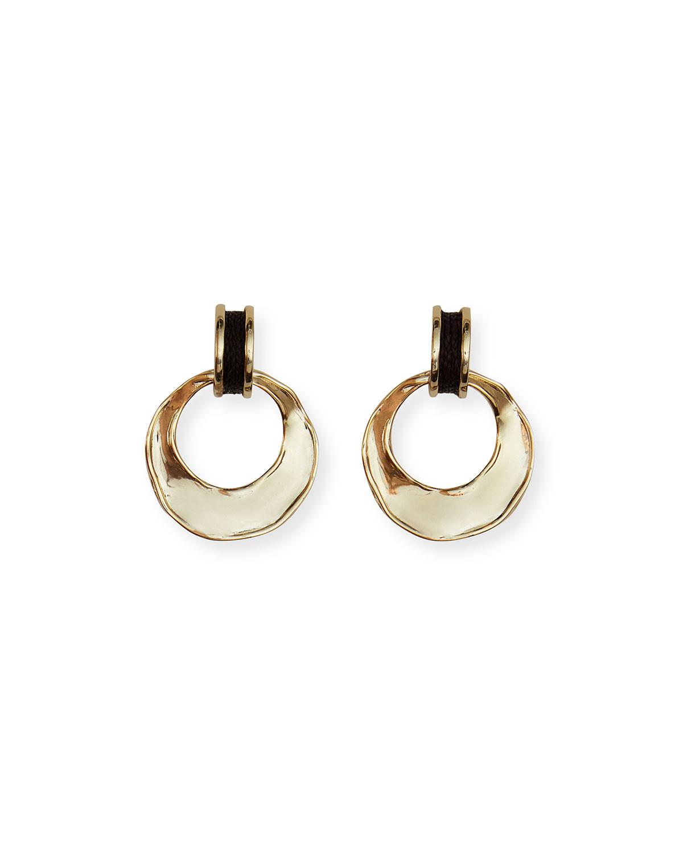 Margo Raffia Hoop Earrings