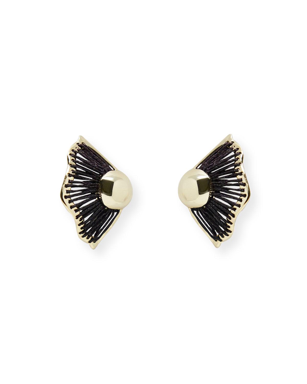 Wren Raffia Earrings
