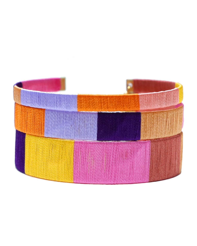 Desert Sunset Cuff Bracelets