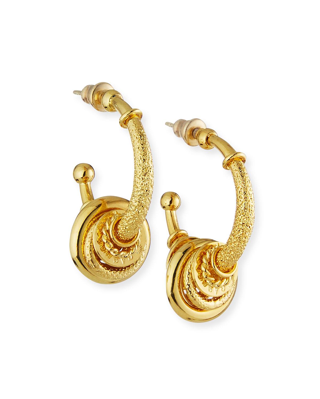 Maranzana Small Hoop Earrings