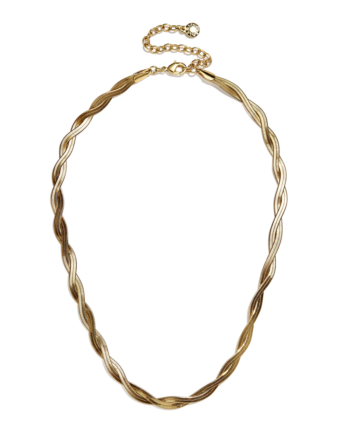 Braided Snake Chain Necklace