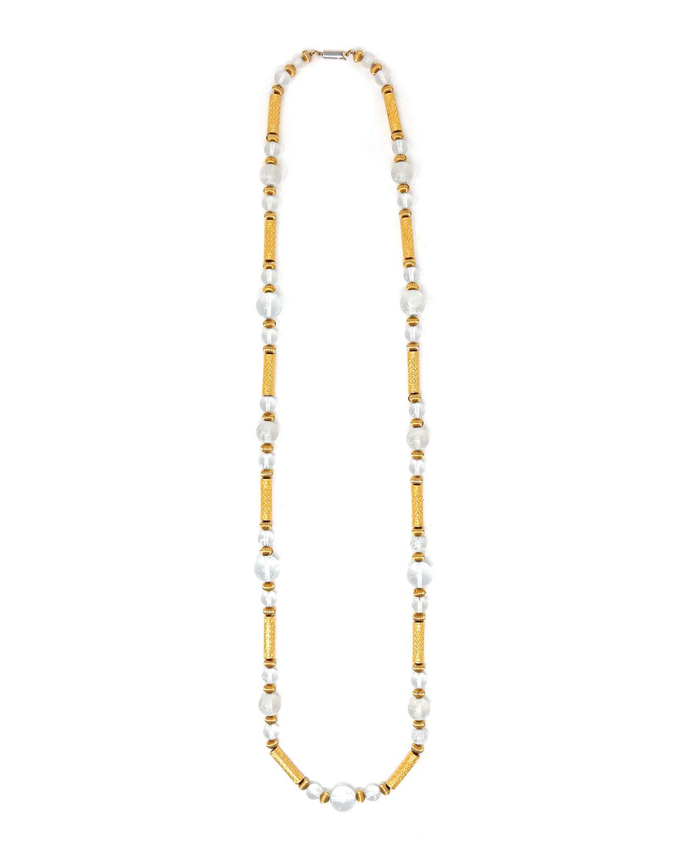 Long Venetian Glass Necklace
