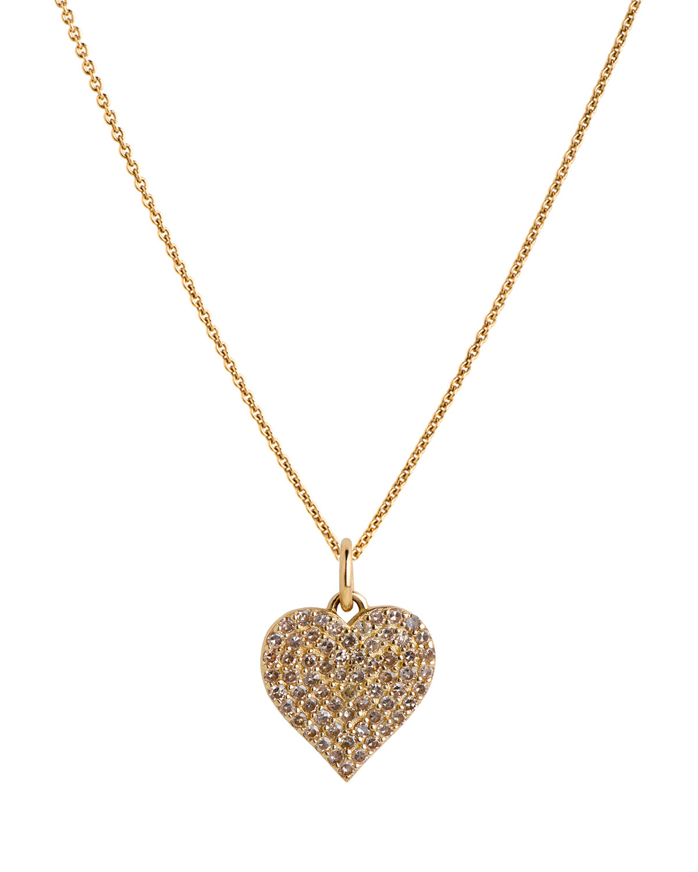 14 Diamond Heart Necklace