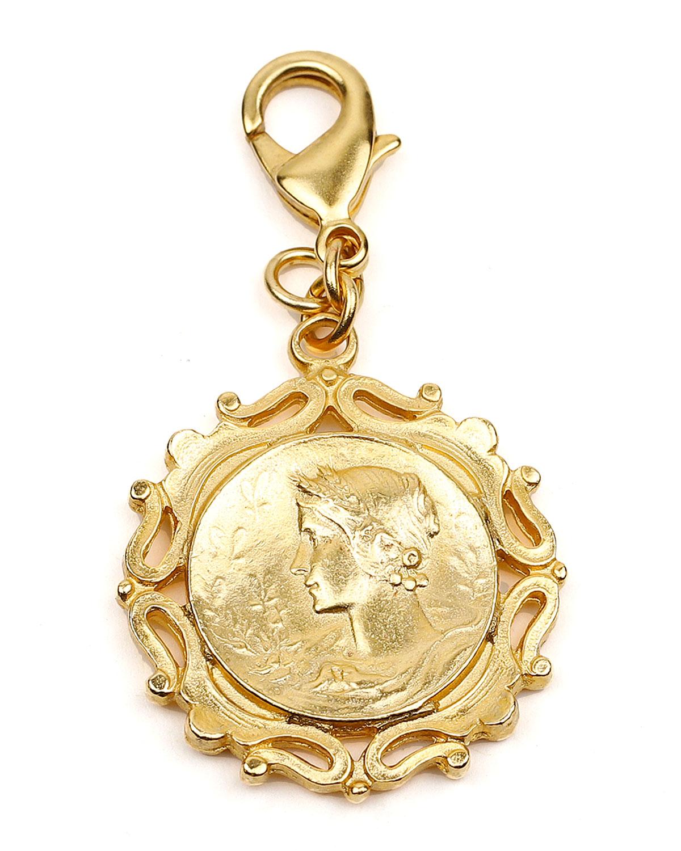 Ben-Amun ROMAN COIN CHAIN LOCKET CHARM