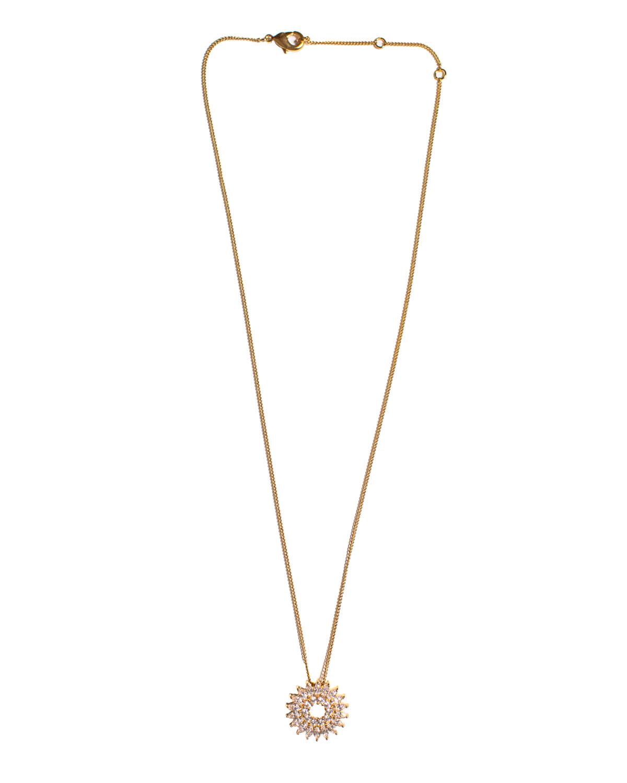 Crystal Madeline Burst Necklace