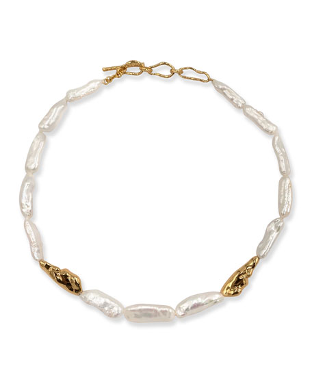 PACHAREE Birch Pearl Necklace