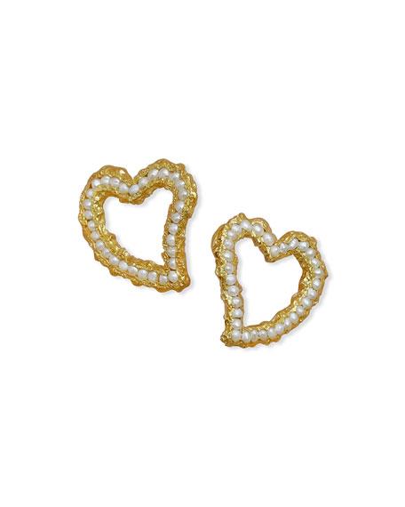 PACHAREE Valentines Pearl Earrings