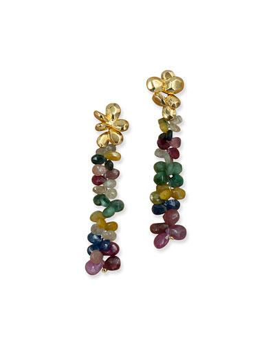 Hand Painted Acrylic Earrings Blackberries Druids /& Nymphs