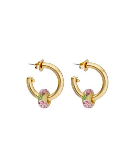 BRINKER & ELIZA Jelly Hoop Earrings