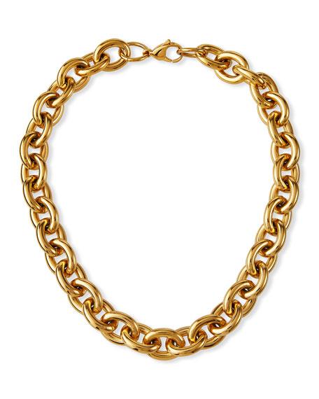 FALLON Alexandria Chain Collar, 16mm