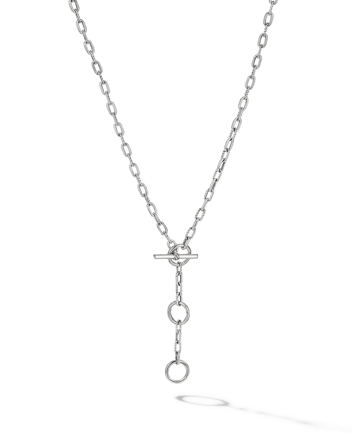 DY Madison Three-Ring Chain Necklace