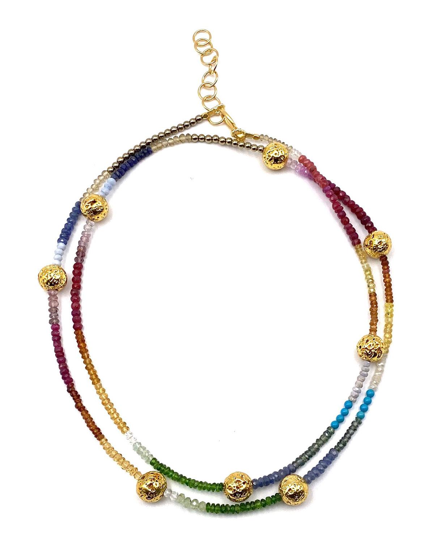 Long Rainbow Necklace