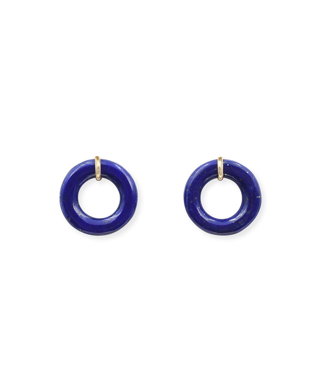 Blueberry Glazed Munchkin Earrings