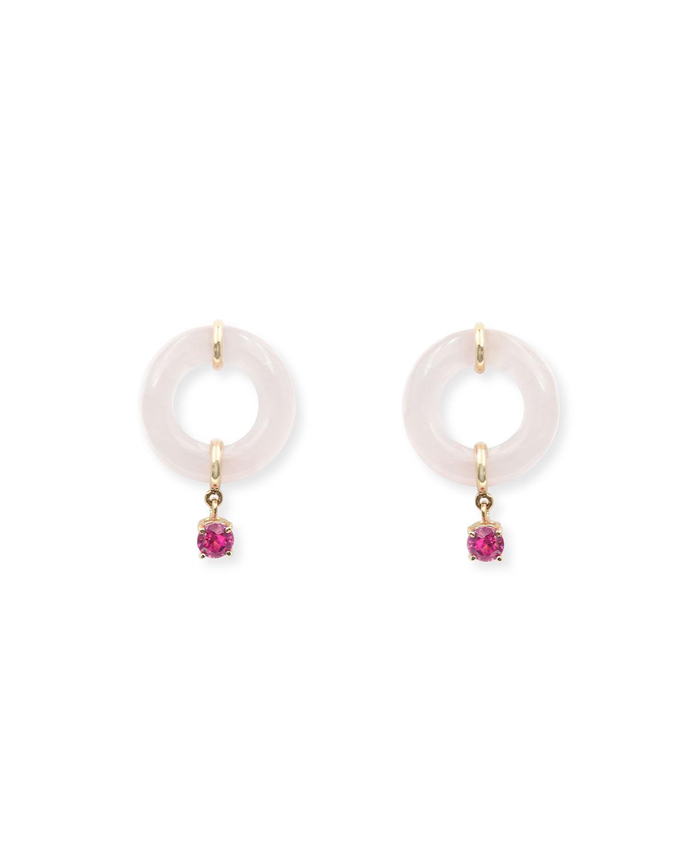 Glazed Munchkin Drop Earrings