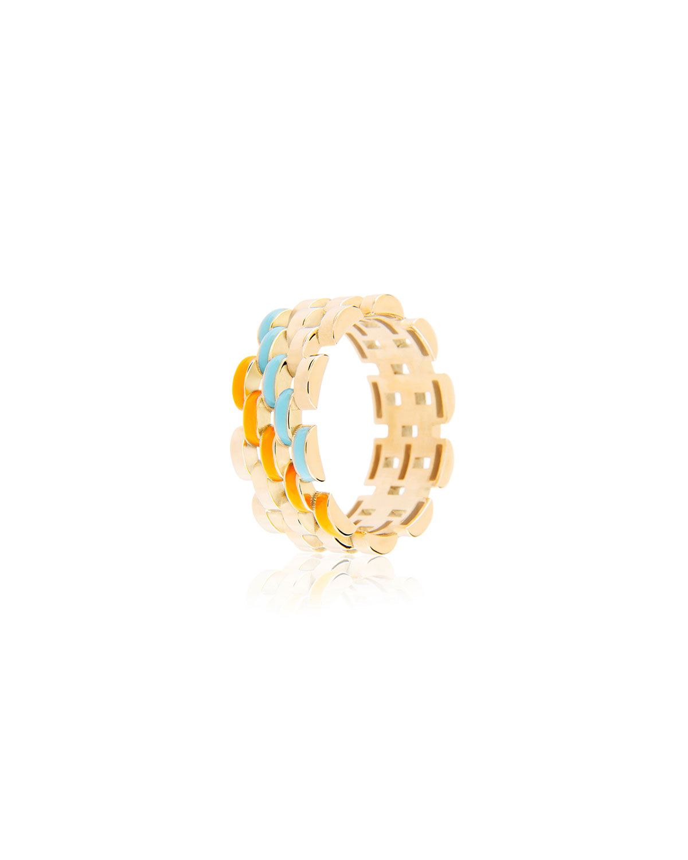 Fine Friendship Enamel Band Ring