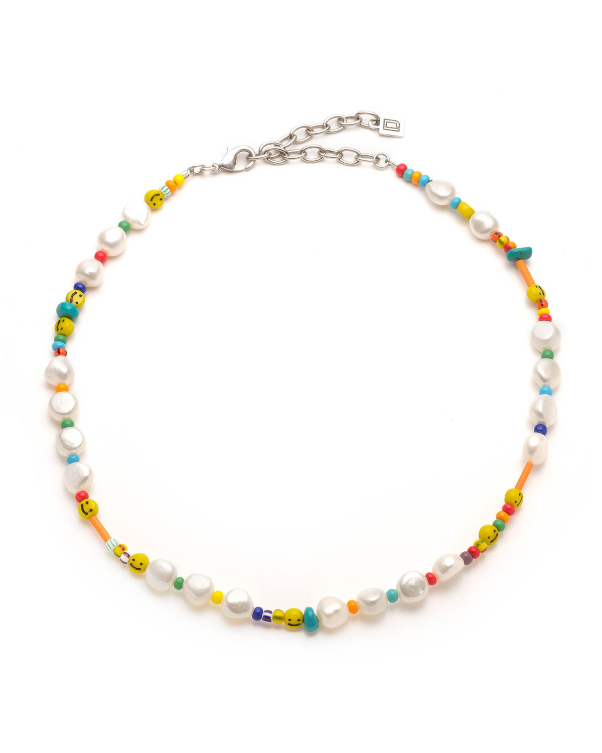 Dannijo JIMI BEAD AND PEARL NECKLACE