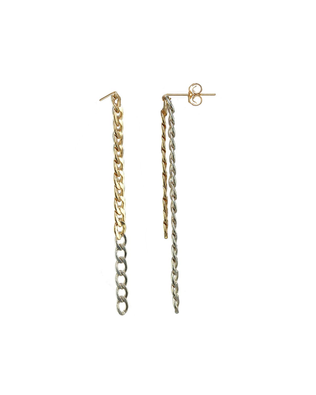 Cadenetta Chain Earrings