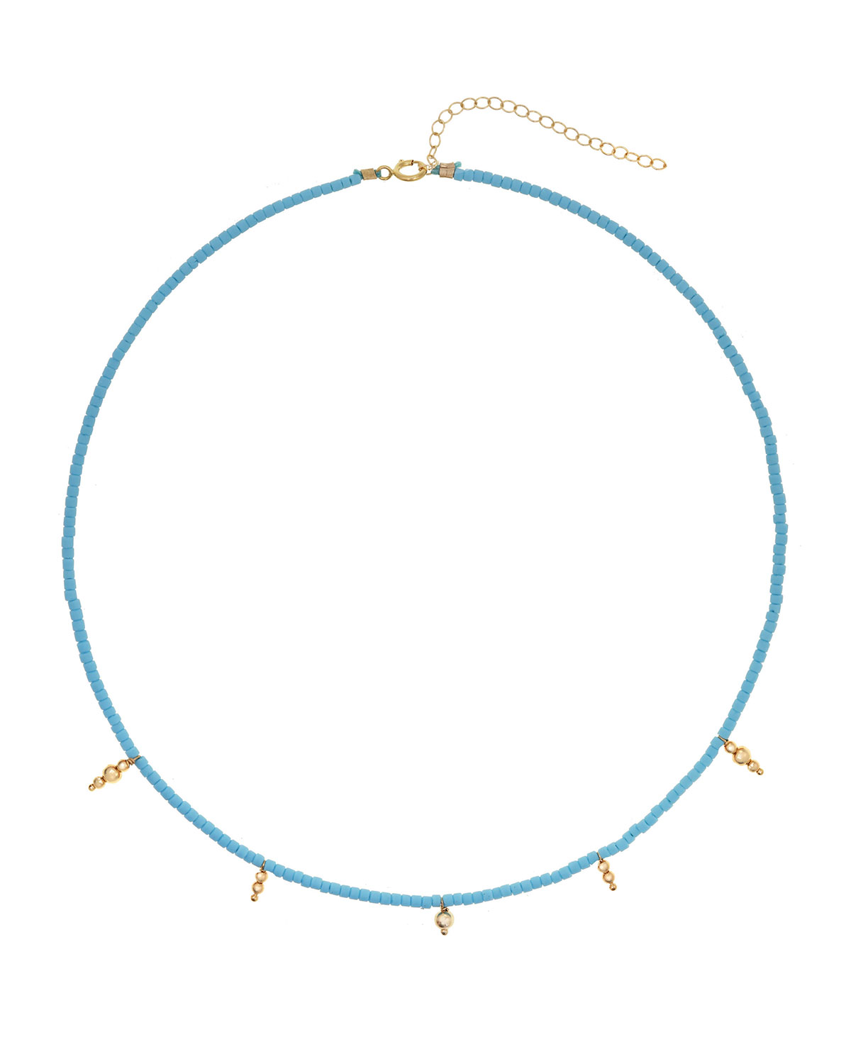 Ancienta 14k Gold-Filled Beaded Necklace