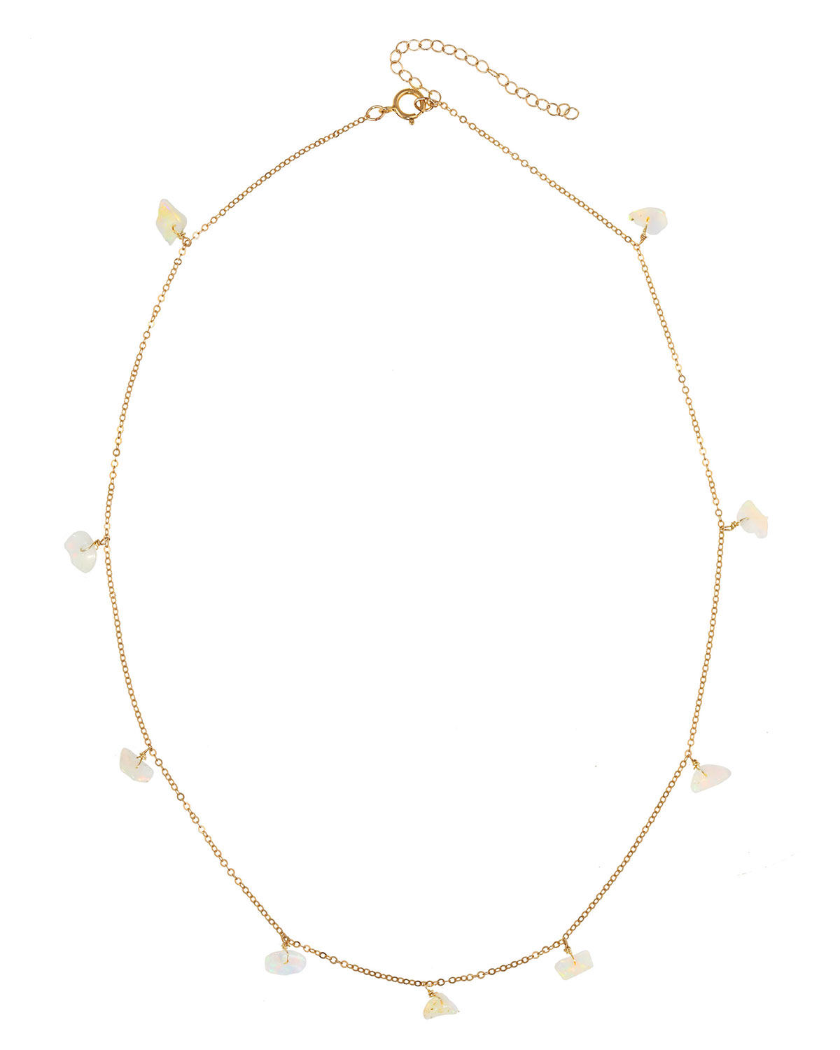 Malay Opal 14k Gold-Filled Necklace