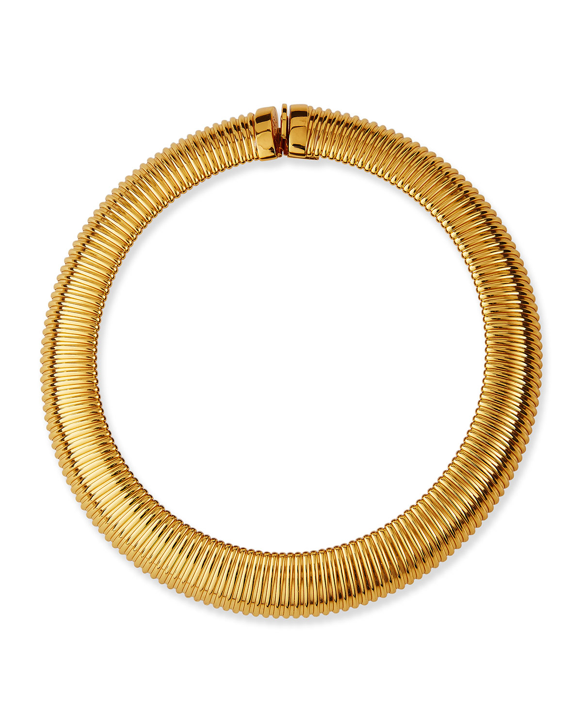 Aida Grooved Necklace