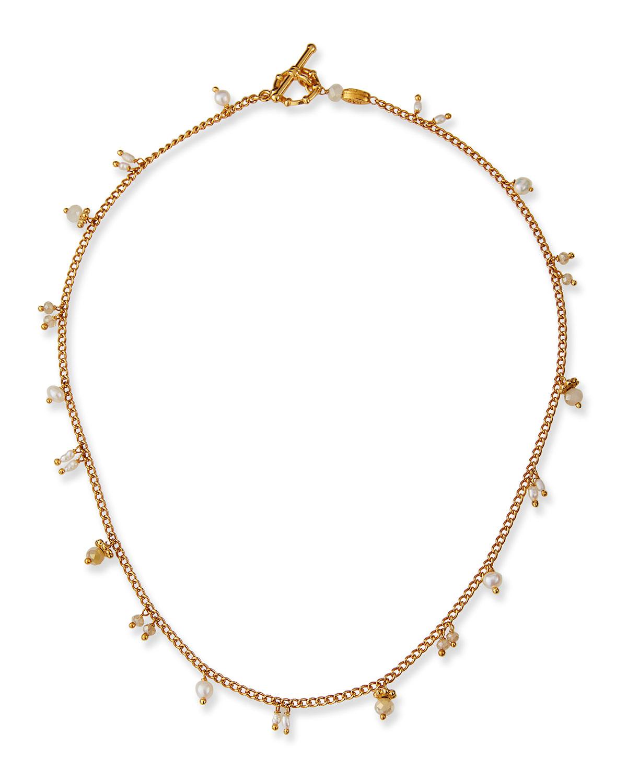 Tangerine Shaker Necklace