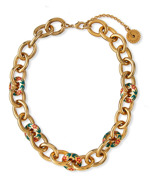 Hibiscus Flora Link Necklace