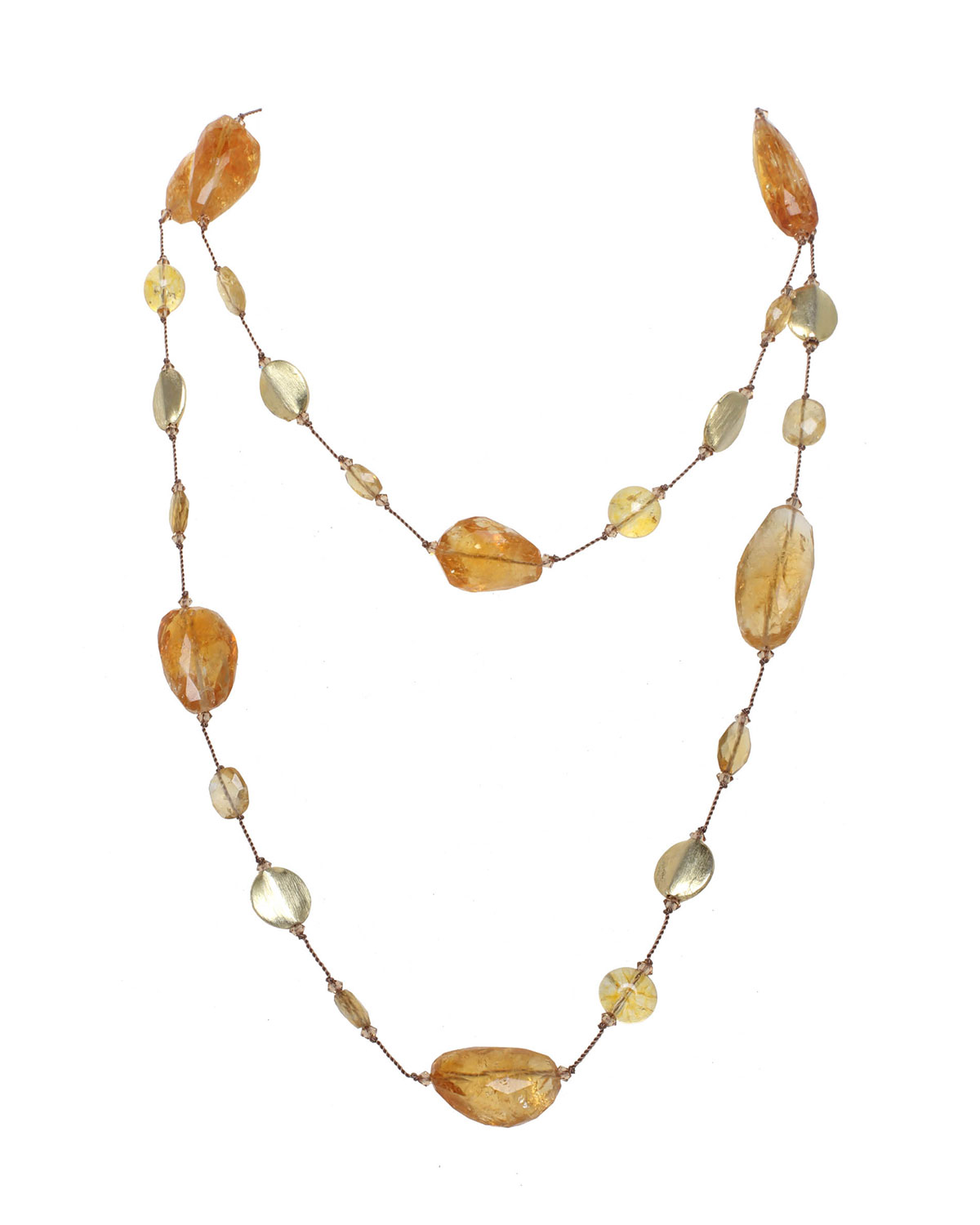 Faceted Citrine Combination