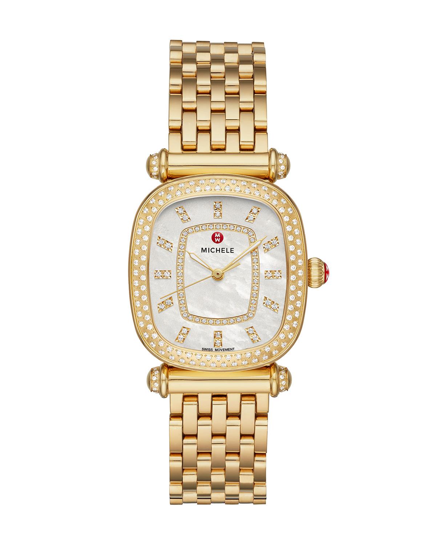 Caber Isle 18k Gold Diamond Watch