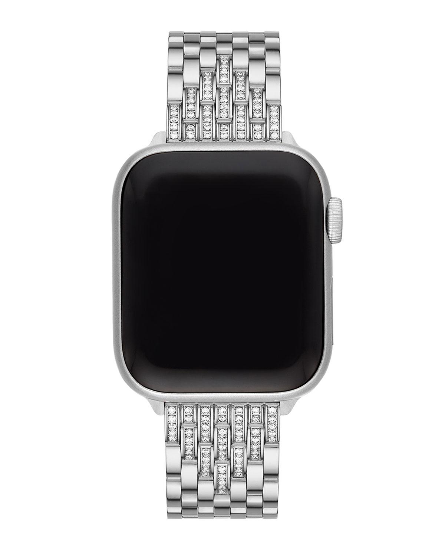 7-Link Stainless Steel Diamond Bracelet for Apple Watch