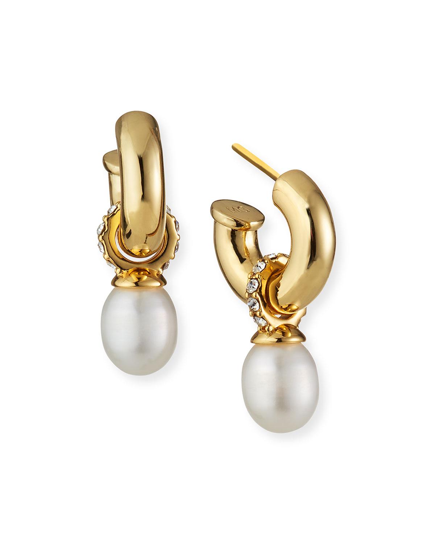 June Huggie Hoop Earrings