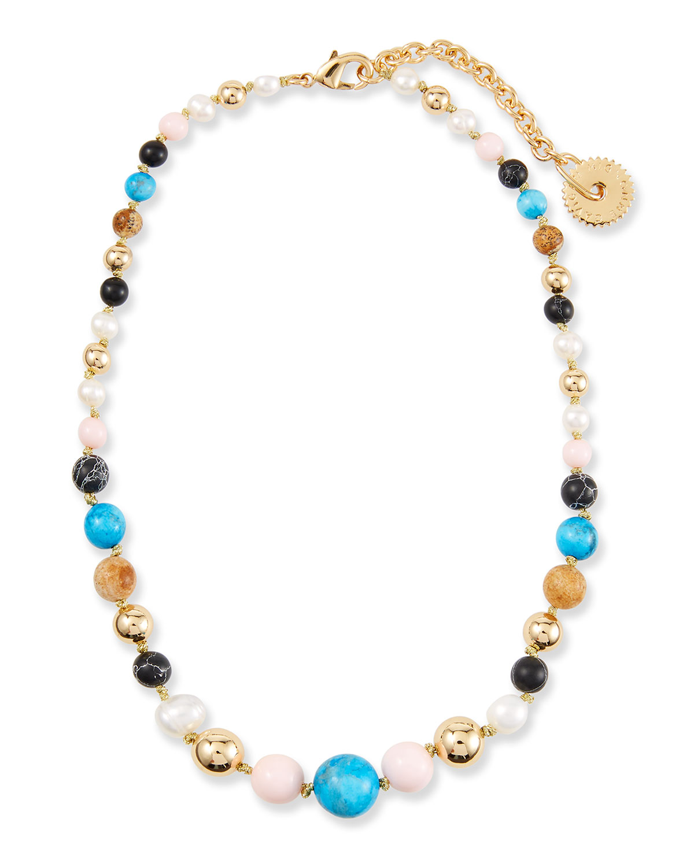 Cleo Beaded Necklace