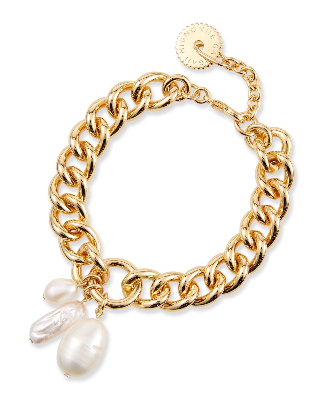 Mignonne Gavigan Bracelets MARGOT PEARL BRACELET