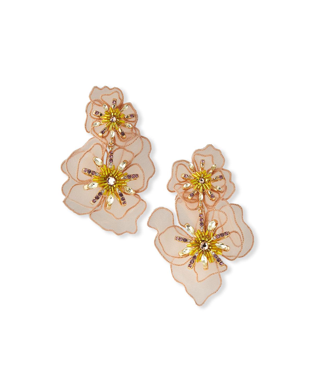 Zinnia Lux Drop Earrings