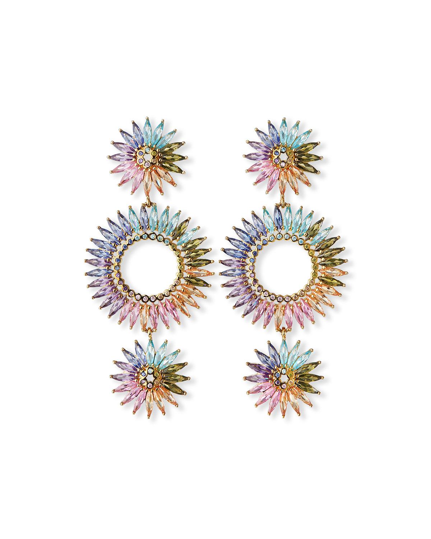 Madeline Lux Crystal Drop Earrings