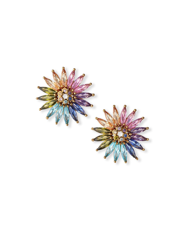 Madeline Crystal Stud Earrings