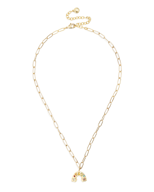 Small Hera Link Rainbow Necklace
