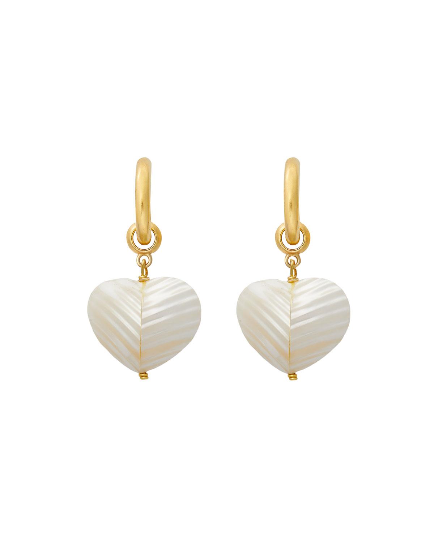 Brinker & Eliza Accessories NIGHTFALL HOOP EARRINGS