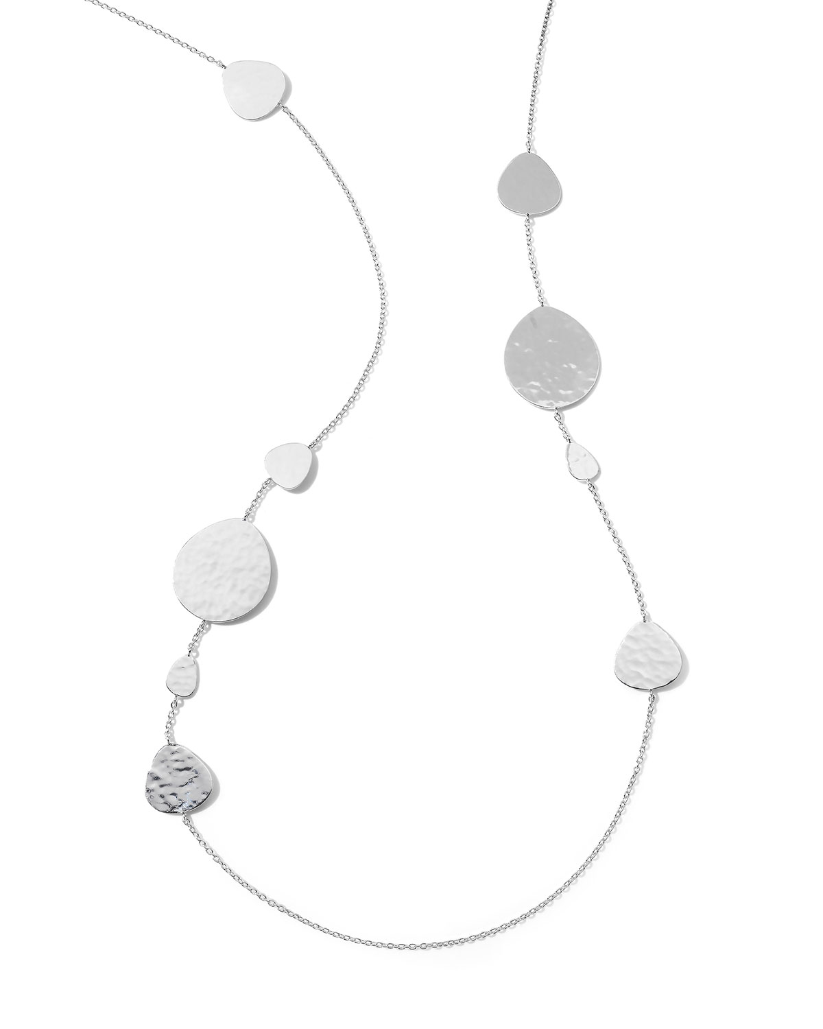 """Ippolita CLASSICO CRINKLE NOMAD LONG STATION NECKLACE, 40""""L"""