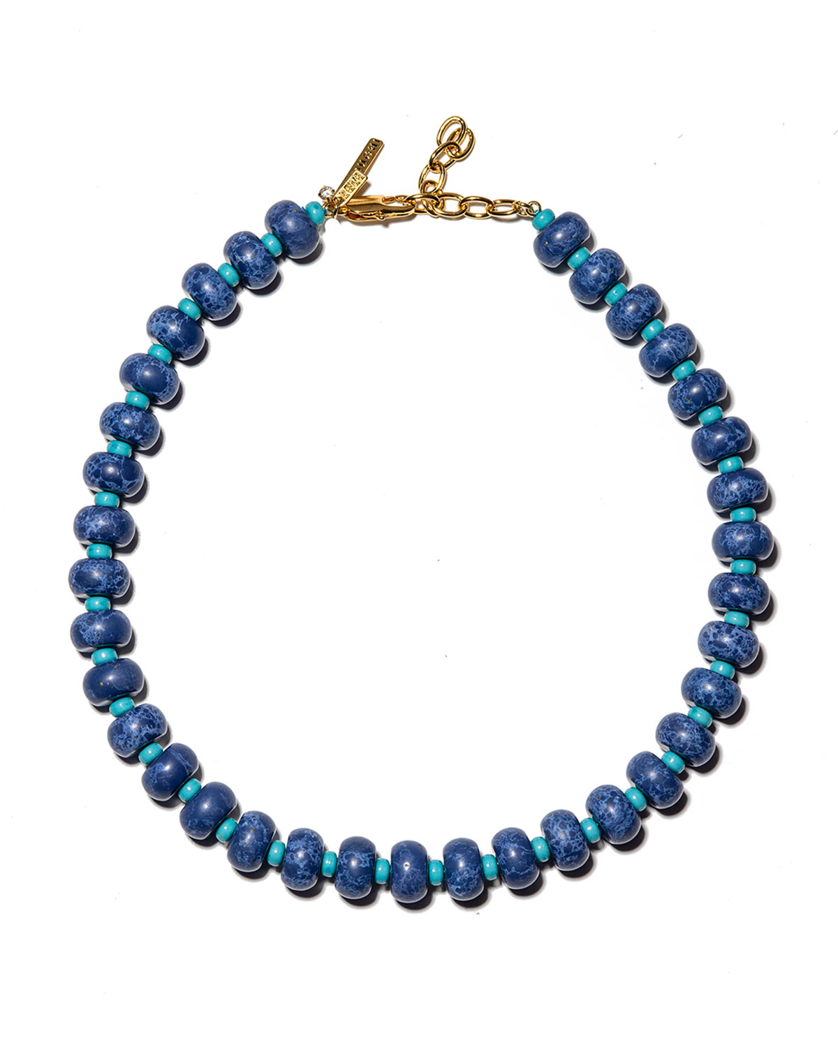 Beaded Country Club Necklace