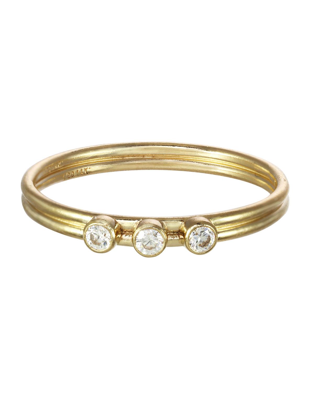 Tres Stone Ring