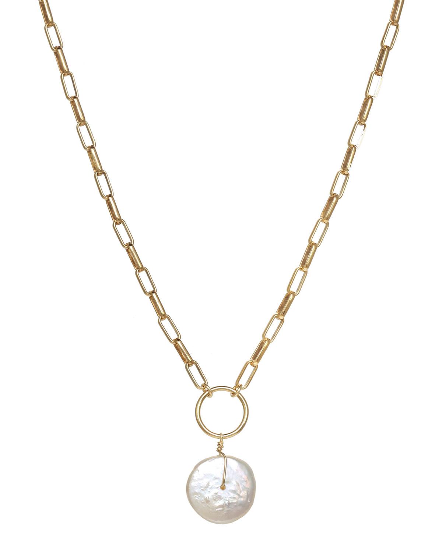 Vivian Pearl Drop Necklace