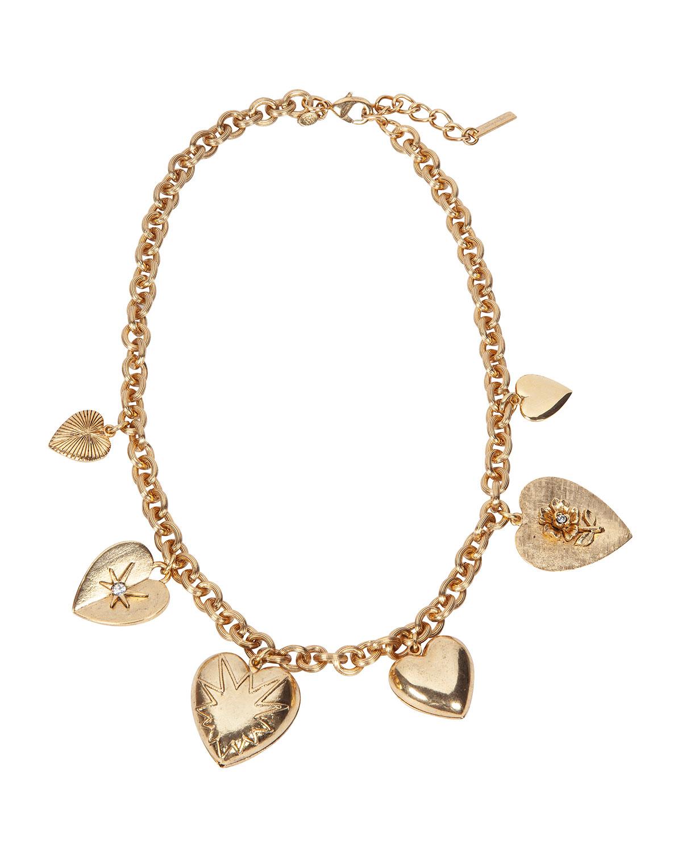 Avila Heart Charm Necklace